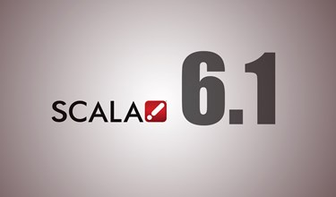 Scala 5 Release 6.1 - Delivers New and Exciting Features