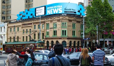 APN Outdoor - real-time digital campaign